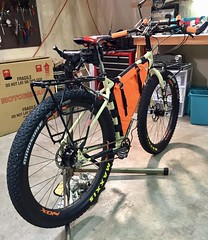 Surly ECR Build Completed (Doug Goodenough) Tags: bicycle bike pedals spokes rogue panda racks bikepacking packing camping surly ecr 29 plus moloko bar rohloff november 2017 nov 17 frame bag dyno hub salsa rear rack drg531