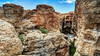 Canyon de Sesriem, désert du Namib (Voyages Lambert) Tags: tsauchabvalley travel wildernessarea extremeterrain sesriem geology dry scenics heattemperature traveldestinations nature sossusvlei namibia africa sand cliff canyon valley ravine drought desert aridclimate landscape sky river eroded residentialdistrict