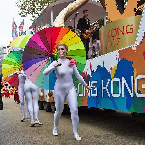 Hong Kong float, Lord Mayor's Show, London, 11 Nov 2017