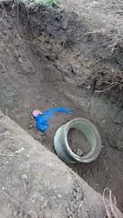 DSC_0647 (Feuerwehr Weblog) Tags: tiefbau tiefbauunfälle trench rescue technicalrescue technische hilfeleistung feuerwehr reiskirchen