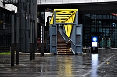 Abstract Architecture (DrQ_Emilian) Tags: architecture urban city abstract stairs bridge color light reflection strutcture indoor explore discover stuttgart badenwürttemberg germany europe travel street detail world nikon photography
