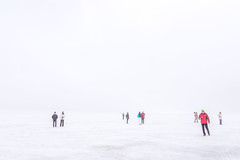 Lost in Space and Time (*Capture the Moment*) Tags: 2017 abenteuer adventure eis eisplatte fog glacier gletscher ice icestream iceland island langjökull menschen nebel people sonye18200mmoss sonynex7 wetter cold cool foggy kalt neblig