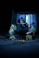 'Crew Bus' (andrew_@oxford) Tags: raf east kirkby 1940s reenactors reenactment aircrew bomber command timeline events