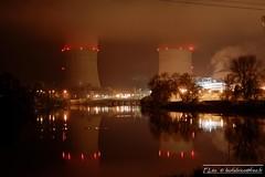 Centrale Saint Laurent Nouan 41 (fabriceleo) Tags: loir loire cher nikon d5300 centrale nucleaire cnpe st laurent nouan eau couleur bleu jaune orange