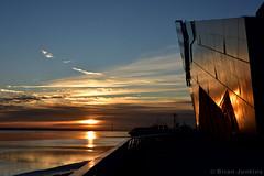 The Deep Sunset (Bri_J) Tags: thedeep aquarium hull eastyorkshire uk yorkshire nikon d7200 sunset sky reflection humberestuary riverhumber river humber