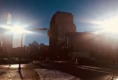 Double Down on the Sun (Clashmaker) Tags: light weather sun winter winnipeg