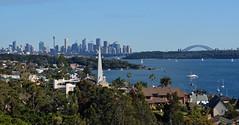 Watsons Bay view (PhillMono) Tags: nikon dslr d7100 new south wales australia sydney watsons bay skyline city cityscape panorama harbour creative perspective imaginative