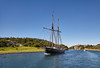Sailing boats and yachts. Tall ship. (Sergey_pro) Tags: active calm channel sunshine green blue sweden grass scandinavia gulf river sail sailboat sea sports storm tallship transition waves wind yacht