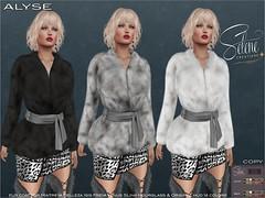 Alyse (Selene Morgan) Tags: coat fur maitreya lara belleza isis freya venus slink hourglass original physique bento