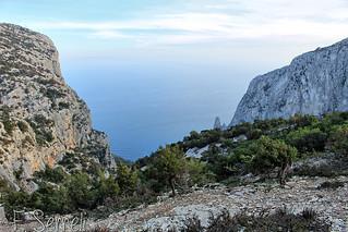 Baunei - Vista di Pedra Longa