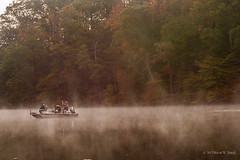 Fishing in the Fog (Back Road Photography (Kevin W. Jerrell)) Tags: chenoa kentucky nikond7200 fog fishing fishermen backroadphotography autumn autumncolors autumnbeauty fall earlymorning fallcolor