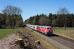 Brickeln (Nils Wieske) Tags: schleswigholstein dithmarschen marschbahn ic intercity baureihe 218 v160 zug züge eisenbahn railway railroad train