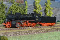 DRG BR 56 915 - Brawa (Stig Baumeyer) Tags: steamlocomotive ånglok dampflokomotive damplok damplokomotiv diorama scalah0 scala187 h0 h0skala h0scale 187 echelleh0 echelle187 modelljärnväg modelljernbane modelleisenbahn modelrailway ferromodellismo h0layout drg deutschereichsbahn brawa brawah0 brawa187 bayerischeg45h bayg45h bavariang45h maffei