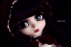 Hyuna | Pullip Bloody Red Hood (·Kumo~Milk·^^) Tags: pullip bloody bloodyredhood hyuna rewigged wig eyechips rechipped doll groove junplanning eyelashes