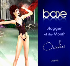 BAXE Blogger of the Month October 2017 (MISS V♛ ITALY 2015 ♛ 4th runner up MVW 2015) Tags: baxe blogger sl new month october 2017 models lucemia