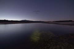 Calm night in Valmayor (Astaroth667) Tags: night water silkeffect clam tranquility noche agua valmayor embalse calma tranquilidad efectoseda reservoir