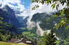 Lauterbrunnen Valley (kimbenson45) Tags: lauterbrunnen berneseoberland switzerland swiss schweiz suisse landscape valley green alps alpine