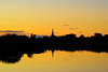 lechlade silhouette sunset (gopper) Tags: lechlade gloucestershire wiltshire swindon cotswold cotswolds sunset golden yellow amazing striking nikon 5300 tamron ngc stunning sihouette riverthames river thames flickr fflickr reflect reflection