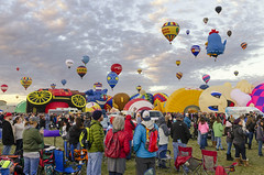Albuquerque Balloon Fiesta 28 (rschnaible) Tags: albuquerque balloon fiesta festival hot air new mexico flight travel transportation sport outdoor color colorful