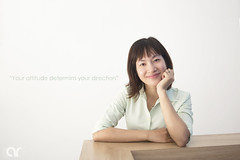 attitude (AR's Photography) Tags: corporate portrait girl smilinggirl vietnam office organization vietnamesegirl indoor naturallight nikond5200 life motivation smile