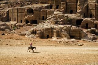 Jordan:  Passing Through Petra