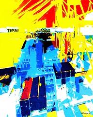 burchardkai (CHRISTIAN DAMERIUS - KUNSTGALERIE HAMBURG) Tags: moderne norddeutsche malerei landschaftsmalerei werke bilderwerk hamburg wer malt bilder acryl kunstgalerie auftragsmalerei auftragskunst acrylmalerei hafencity bildergalerie galerie container schiffe elbe hafen rapsfelder schleswigholstein zeichnung hell abstrakt fotorahmen text surreal