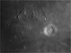Copernicus crater (sparkdawg068) Tags: moon monochrome lunar skyris weather space 6 astrograph craters registax6 lightroom ps texas