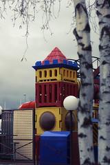 Lost colorful castle( ̄へ ̄) (Adam R.T.) Tags: lost castle urbex urbexground urbexeurope winter trees colorful light white dark contrast fog emptiness depressed alone vapid creepy