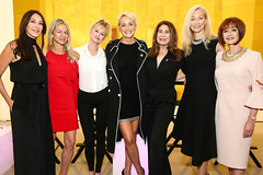 Tamara Mellon, Crystal Lourd, Melanie Griffith, Sharon Stone, Paula Wagner, Dr. Pauline Maki, Lynn Posluns