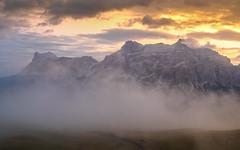 Colours of a magic Morning... (Ody on the mount) Tags: anlässe berge dolomiten em5ii fototour italien mzuiko918 morgenlicht nebel omd olympus pralongia südtirol urlaub wolken badia trentinoaltoadige it