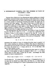 A Determinant Formula for the Number of Ways of Coloring a Map, by George David Birkhoff (heyesa.me) Tags: george david birkhoff math maths mathematician poet poem poetry a determinant formula for number ways coloring map annals mathematics 1912