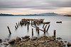 Fleming Point 2017 (Ron Rothbart) Tags: 10stopfilter albany albanybayfronttrail albanybeach california flemingpoint nd abandoned longexposure neutraldensityfilter pier ruins water