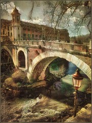 """From the series """"Walks in Italy"""".Rome. (odinvadim) Tags: mytravelgram paintfx textured textures iphone editmaster travel iphoneography sunset evening iphoneonly church painterly artist snapseed landscape photofx specialist iphoneart graphic painterlymobileart"""