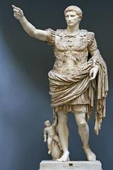 Statua di Augusto Loricato_Musei Vaicani