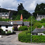 Villas, Strathpeffer, station thermale, Ross and Cromarty, Ecosse, Royaume-Uni. thumbnail