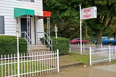 Sons of Italy, Binghamton, NY (Robby Virus) Tags: binghamton newyork ny upstate italy italian americans fraternal organization sign signage lodge 487