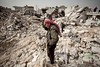 Siria, colloqui a Ginevra per porre fine a crisi (PrP Channel) Tags: middleeast politicalcrisis revolt civilwar civilianpopulation consquencesofwar destruction damage ruins horizontal bombardment generalview aleppo syria syr