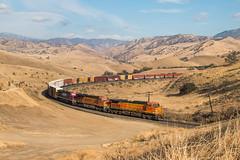 The Grand Stage (Jake Branson) Tags: train railroad locomotive tehachapi mountains bnsf fxe ferromex c449w ge caliente ca california