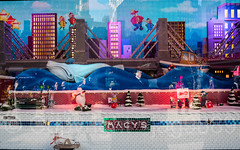 "2017 Holiday Window Display ""The Perfect Gift Brings People Together"" at Macy's Herald Square, New York City (jag9889) Tags: 2017 2017holidaywindowdisplay 20171127 34thstreet architecture boat bridge bridges bruecke brücke building christmas christmastree crossing departmentstore display gift heraldsquare holiday house infrastructure macy macys manhattan midtown mouse ny nyc newyork newyorkcity ornaments outdoor pont ponte puente punt retail ship sign skyscraper span store storewindow structure subway text usa unitedstates unitedstatesofamerica vessel water whale window jag9889"
