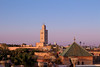 Marrakesh Skyline (T is for traveler) Tags: travel traveler traveling tisfortraveler digitalnomad backpacker exploration summer trip photography africa morocco marrakesh city town arab canon 1855mm 700d architecture traditional house building skyline view panoramic sky mosque roof terrace palm tree