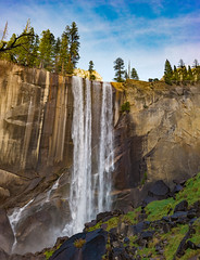 Vernal Fall (pixelmama) Tags: californa findyourpark nationalpark pixelmama ynp yosemiteconservancy yosemitenationalpark yosemitevalley yosemitenps misttrail vernalfall autumn fall november 2017