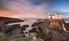 Punta Frouxeira (David Castro Rodriguez) Tags: nikon nikkor dacaro aire libre water sea sun sunset atardecor ermita punta frouxeira stone rock