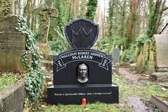 Highgate Cemetery (Bonngasse20) Tags: grave highgatecemetery malcommclaren sidvicious sexpistols johnnyrotten headstone london northlondon