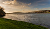 Quiet Afternoon on the Plym. (trevorhicks) Tags: plymouth river plym water autumn devon grass ducks waves buildings clouds sky trees leaves canon 5d mark iv tamron saltram national trust