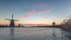 Winter is coming! (Wim Boon (wimzilver)) Tags: wimboon canoneos5dmarkiii canonef1635mmf4lisusm leefilter lee kinderdijk unescoworldheritage alblasserwaard alblasserdam holland nederland netherlands natuur