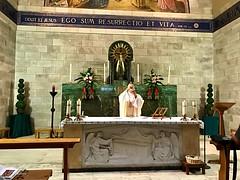 77 - Szentmise Lázár templomában - Betánia / Svätá omša v Kostole sv. Lazara - Betánia