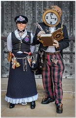 Booked just in time (Hugh Stanton) Tags: steampunk models appicoftheweek
