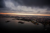 New York Sunset (Terry Moran Photography) Tags: new york city ny nyc big apple nikon d810 nikkor usa flynyon manhattan sunset helicopter birds eye view sky skyline landscape cityscape structures