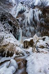 ice dreams (Plamen Troshev) Tags: ice waterfall freeze nature new rocks stone snow