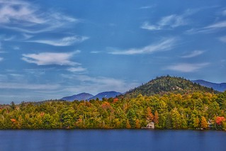 Lake Placid  New York ~ Mirror Lake View